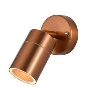 Zinc Leto IP44 Adjustable Spotlight