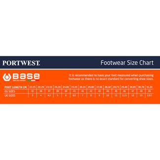 Portwest Base B0508 White Cromo Hygiene Ankle Boot