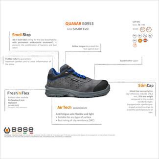 Additional image of Portwest Base B0953 Quasar - Cursa Shoes