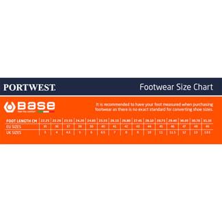 Portwest Base B0952 Pulsar Black-Blue Low Shoes