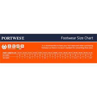 Portwest Base B0677 Black-Blue Marathon Shoes