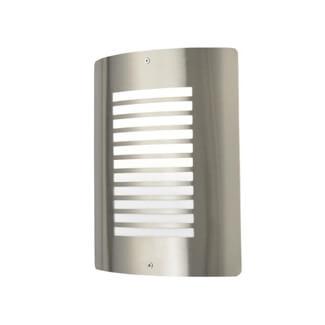 Zinc Sigma Panel Slatted Wall Lantern