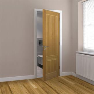 JB Kind Lucina Pre-Finished Oak 2P Internal Fire Door