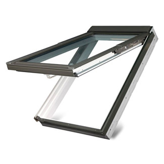 Fakro Manual Top Hung FPW White Acrylic Roof Window