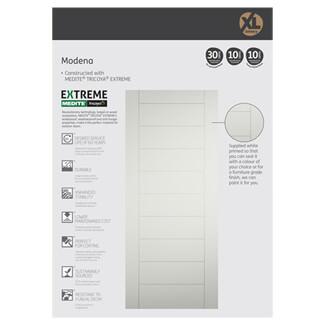 XL Joinery Modena White Primed External Door