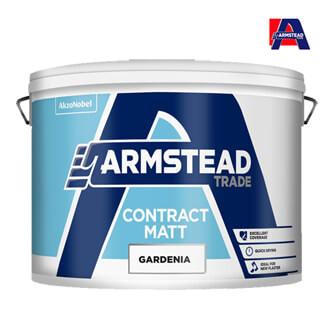 Armstead Trade Contract Matt Emulsion Paint 10-Litre