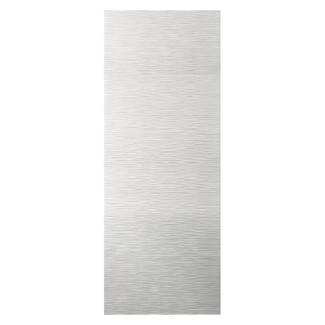 JB Kind White Primed Ripple Internal Door