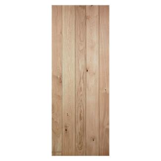 LPD Solid Nostalgia Un-Finished Oak Internal Door