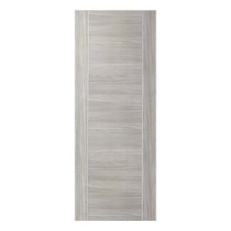 XL Joinery Forli Pre-Finished White Grey Laminate Internal Fire Door