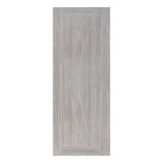 XL Joinery Salerno White Grey Laminate Internal Door