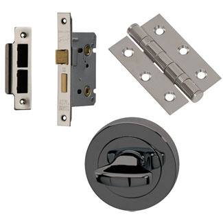 XL Joinery Neva Round Rose Bathroom Handle Pack