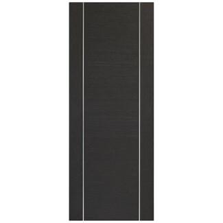 XL Joinery Forli Pre-Finished Dark Grey Internal Door
