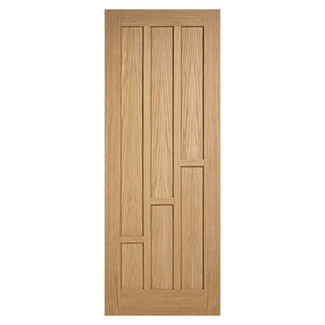 LPD Coventry Pre-Finished Oak 6P Internal Door