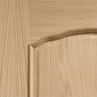 XL Joinery Louis Pre-Finished 2P Internal Oak Door