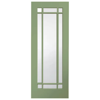 XL Joinery Cheshire Painted Fern 9L Internal Glazed Door