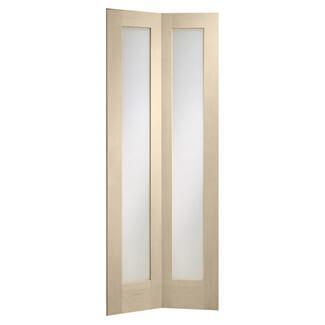 XL Joinery Pattern 10 Crema Oak 2L Internal Bi-Fold Glazed Door