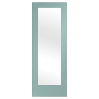 XL Joinery Pattern 10 Painted Merlin 1L Internal Glazed Door