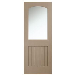 XL-Joinery Sussex Crema Oak 1P 1L Internal Glazed Door