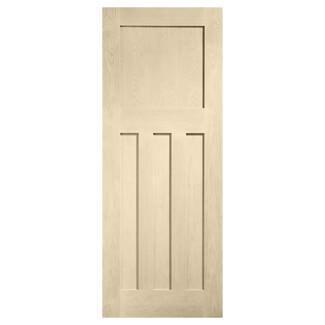 XL Joinery DX Blanco Oak 4P Internal Fire Door