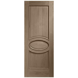 XL Joinery Calabria Cappuccino Oak 3P Internal Door
