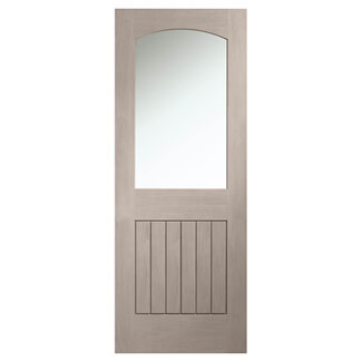 XL-Joinery Sussex Cappuccino Oak 1P 1L Internal Glazed Door