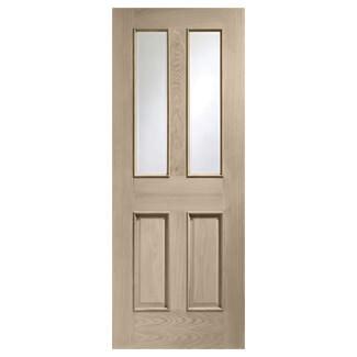 XL Joinery Malton Crema Oak 2P 2L Internal Glazed Door