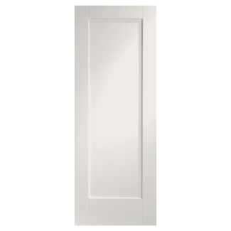 XL Joinery Pattern 10 Painted Glacier White 1P Internal Fire Door