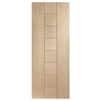 XL Joinery Messina Crema Oak 8P Internal Fire Door