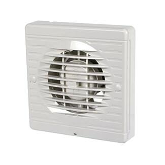 Manrose Wall/Ceiling Humidistat Axial Fan White 100mm