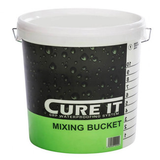 Cure-It Printed Mixing Bucket 10 Litres