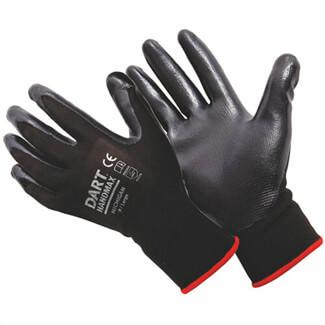 Dart Handmax Michigan Black Nitrile Gloves Pack Of 12 Pair