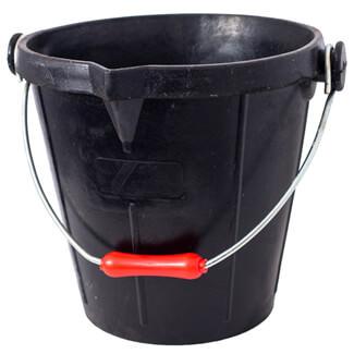 Gorilla Traditional Rubber Black Bucket 14 Litres