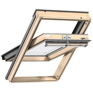 Velux Manual Centre Pivot GGL Pine Roof Window