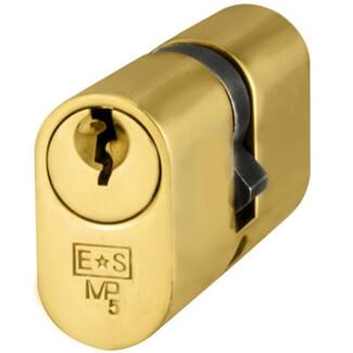 Carlisle Brass Eurospec MP5 70mm Oval Double Cylinder