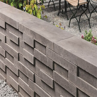 Bradstone Easy Stack Walling Anthracite - Pallet
