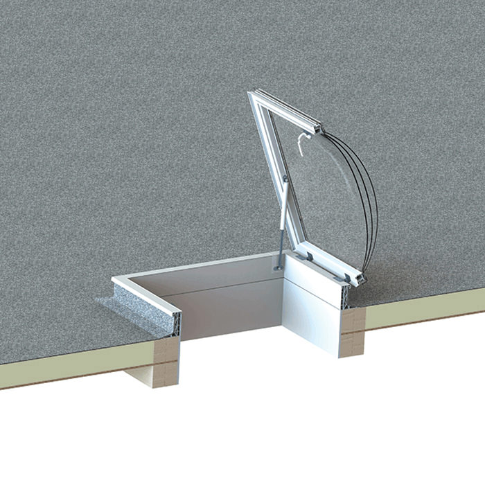 Alternate image of Keylite Flat Roof Access Hatch - Variation Available