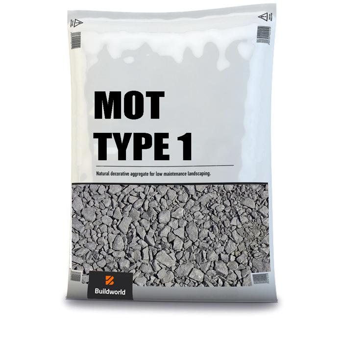 Buildworld Road Stone Hardcore MOT Type 1 25Kg Bag