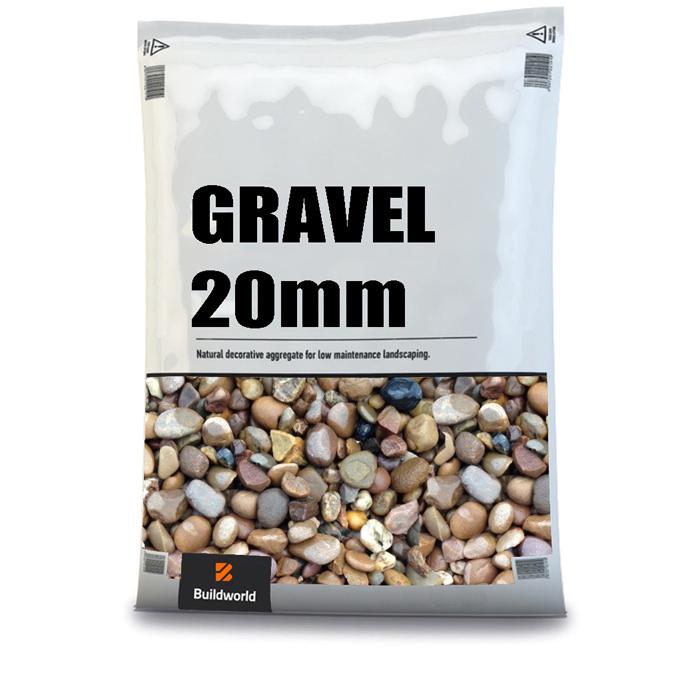 Buildworld 20mm Gravel 25Kg Bag