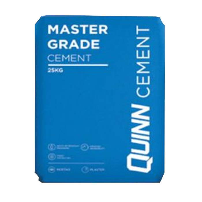Quinn Master Grade Cement Plastic Bag 25Kg - Available In Various Quantity