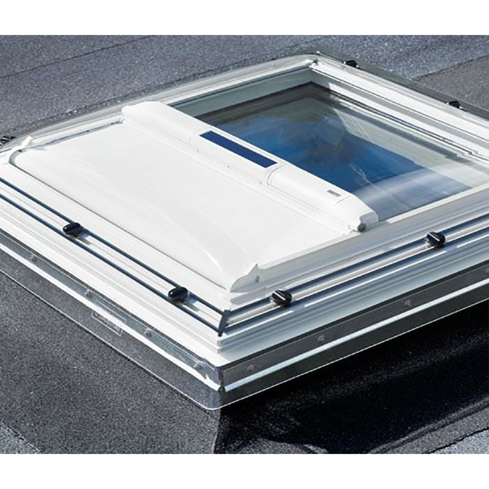 Velux Solar Heat Reduction Awning Blind For Flat Roof ...