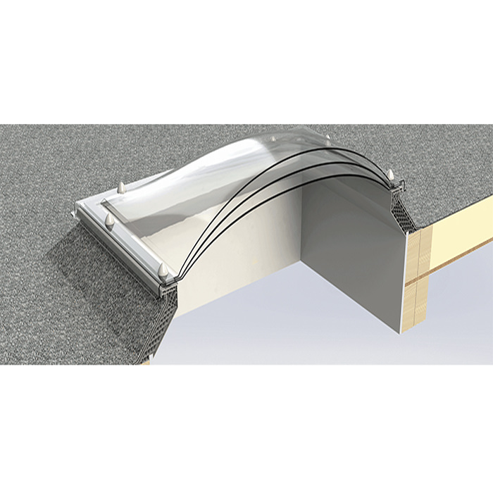 Alternate image of Keylite Flat Roof Dome - Variation Available