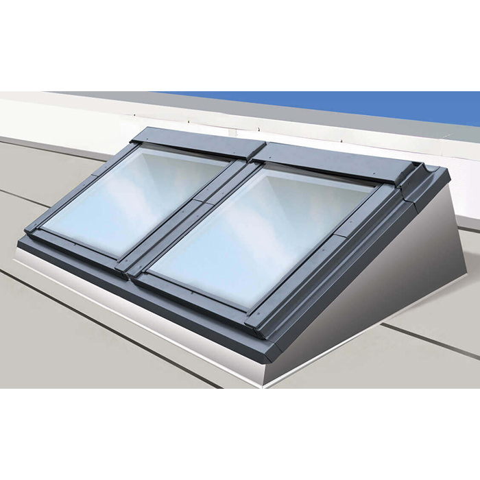 Alternate image of Keylite Combination Flat Roof System - Variation Available