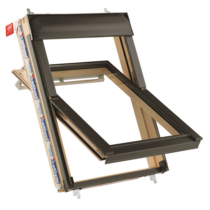 Keylite Manual Center Pivot Roof Window - Variation Available