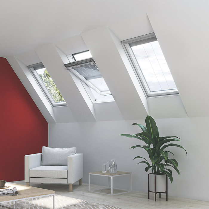 Additional image of Keylite Manual Center Pivot Roof Window - Variation Available