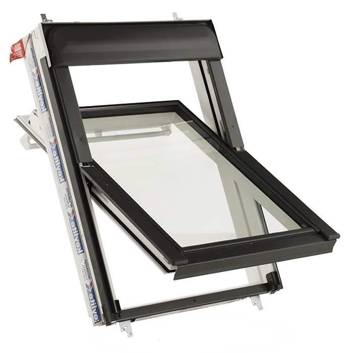 Alternate image of Keylite Manual Center Pivot Roof Window - Variation Available