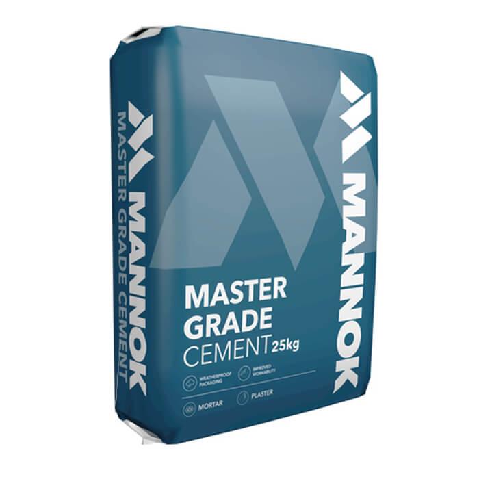 Mannok Master Grade Cement Plastic Bag 25Kg